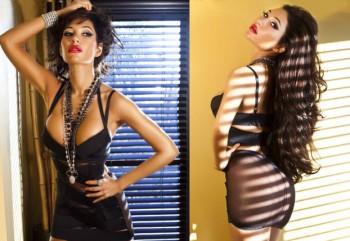 Model & Singer Kea Ho photo shoot for US Magazine